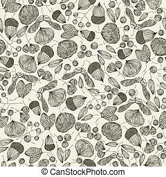 zaden, pattern., seamless
