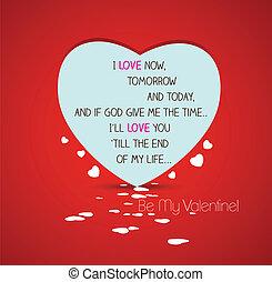 zijn, valentijn, mijn, hart