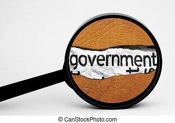 zoeken, regering