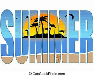 zomer, titel