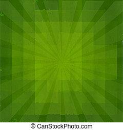 zonnestraal, grunge, groene, textuur, achtergrond