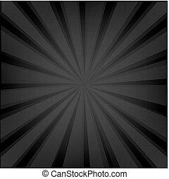 zonnestraal, zwarte achtergrond, textuur
