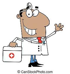 zwarte man, arts